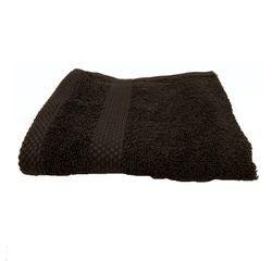 Achat en ligne Serviette invité 30X50cm en coton éponge charbon