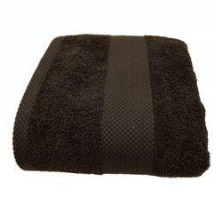 Achat en ligne Serviette de douche 70X130cm en coton éponge charbon