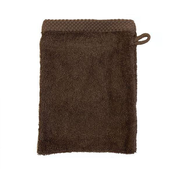 Gant de toilette en coton éponge souris