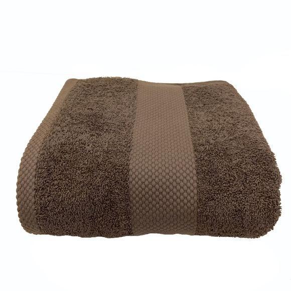 acquista online Asciugamano in spugna di cotone 500gr, grigio cenere 70x130cm