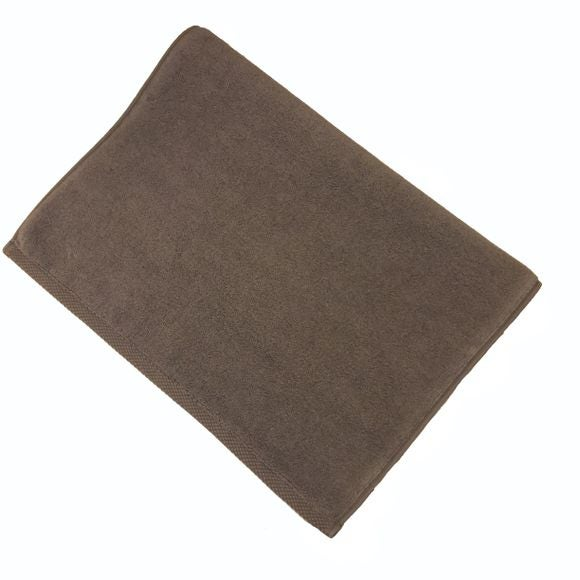 Tappeto da bagno in spugna di cotone, grigio cenere 50x70cm