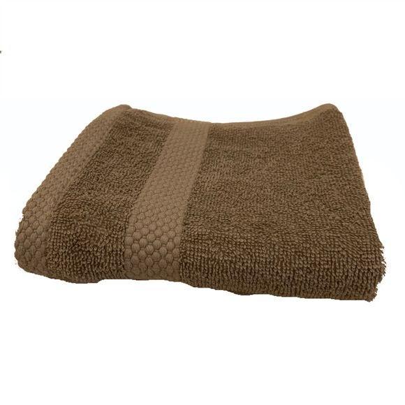 Asciugamano bidé in spugna di cotone 500gr, grigio perla 30x50cm