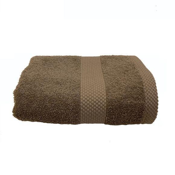 Asciugamano viso in spugna di cotone 500gr, grigio perla 50x90cm