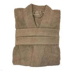 compra en línea Albornoz unisex talla XXL en felpa de algodón verde caqui
