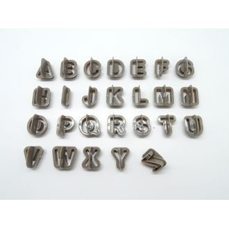 Découpoir alphabet