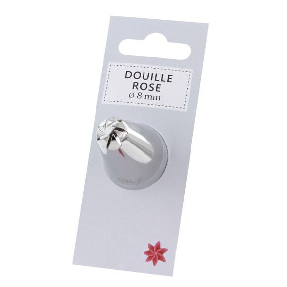 Douille rose 8mm 120