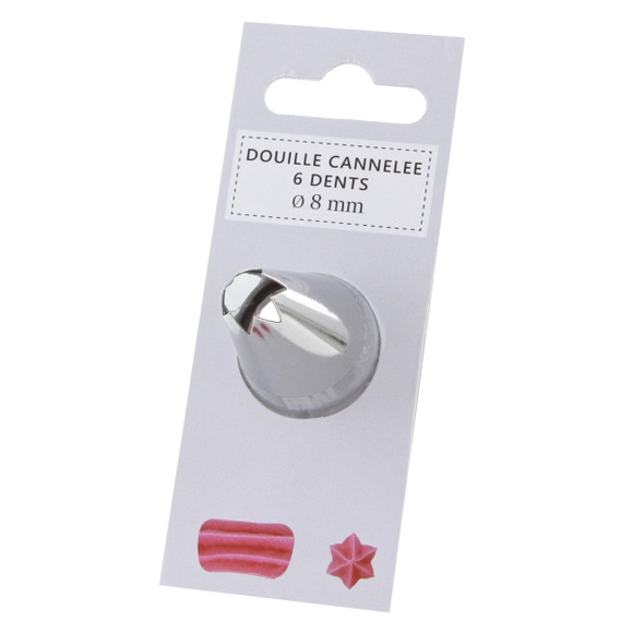 Achat en ligne Douille cannelée 11mm 6 dents 104