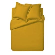 Achat en ligne Housse de couette 140x200cm en coton jaune curry