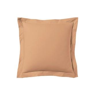 Taie d'oreiller carrée rose fané 65x65cm