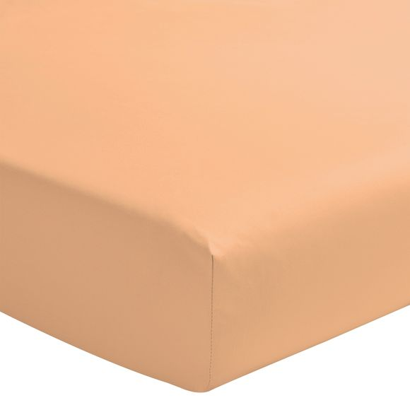 Lenzuolo con angoli piazza e mezza in cotone rosa