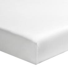 Achat en ligne Drap housse 180x200cm en toile de coton pour matelas épais blanc