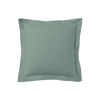 ZODIO - Taie d'oreiller carrée gris fumée 65x65cm