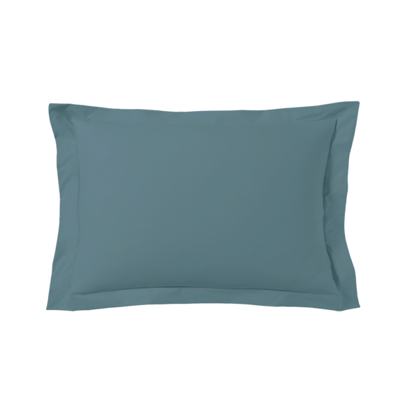 Federa in cotone blu petrolio 50x70cm