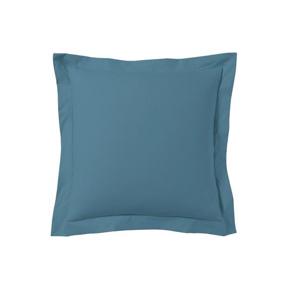 acquista online Federa quadrata in cotone blu azzurro 65x65cm