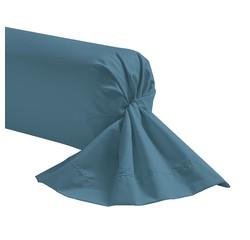 Achat en ligne Taie de traversin bleu postal 44x185cm