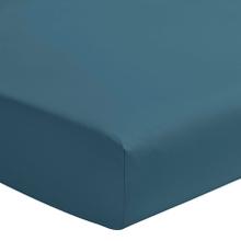 Achat en ligne Drap housse bleu postal matelas épais 180x200cm