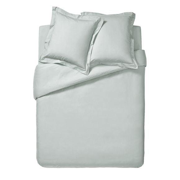 Copripiumino singolo in cotone bianco