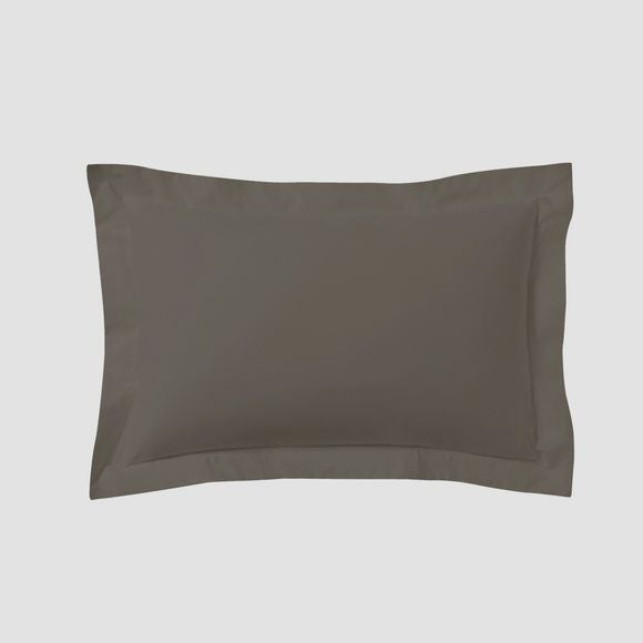 Federa in cotone nero 50x70cm