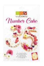 Achat en ligne Kit de gabarit Number cake en plastique