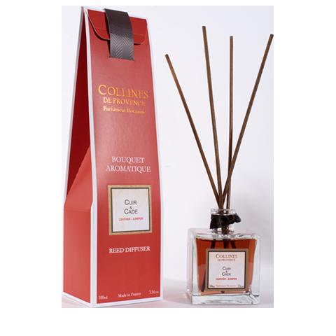 Achat en ligne Bouquet parf cuir & cade 100ml
