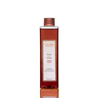 COLLINES DE PROVENCE - Recharge bouquet parfumé cuir & cade 200ml