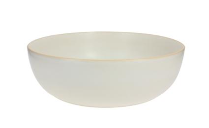 Achat en ligne Saladier blanc mat 24 cm