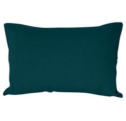 compra en línea Funda de almohada de lino y algodón verde azulado (50 x 70 cm)