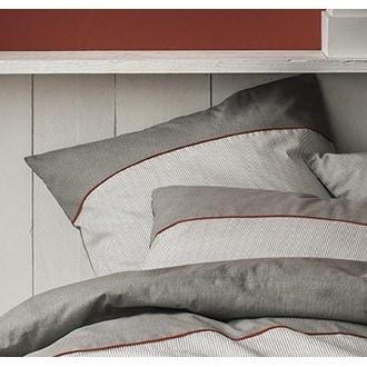 ZODIO - Taie d'oreiller carrée en coton Ezpeleta 65X65cm