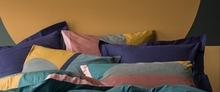 Achat en ligne Taie d'oreiller carrée en percale 65X65cm Abstraction