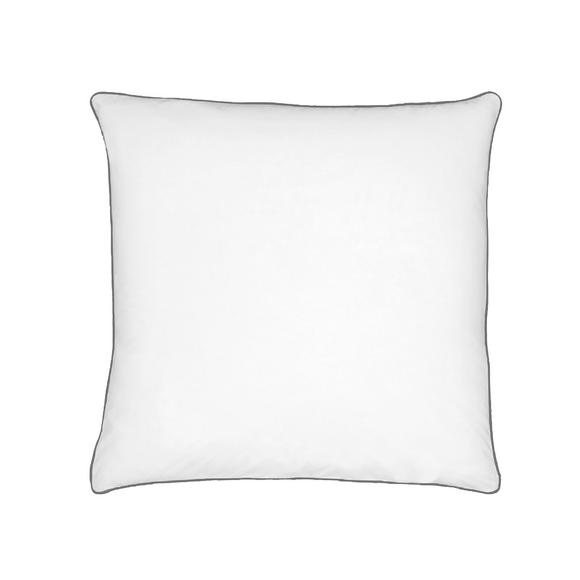 Federa quadrata in cotone percalle bianco 65x65cm