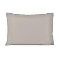 Federa in cotone percalle grigio 50x70cm