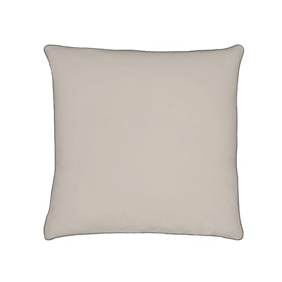 acquista online Federa quadrata in cotone percalle grigio 65x65cm