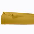 Lenzuolo matrimoniale king size in cotone percalle giallo curry