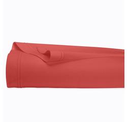 Achat en ligne Drap plat en percale avec bourdon rouge grenade 240x300cm