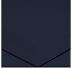 Achat en ligne Drap housse encre matelas épais 140x200cm