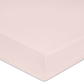 Lenzuolo con angoli matrimoniale kingsize in cotone percalle rosa