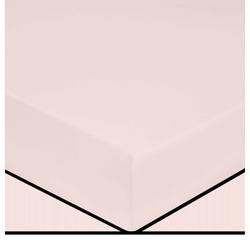 compra en línea Sábana bajera para colchón grueso rosa palo (180 x 200 cm)