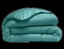 Achat en ligne Housse de couette 260x240cm en percale bleu paon