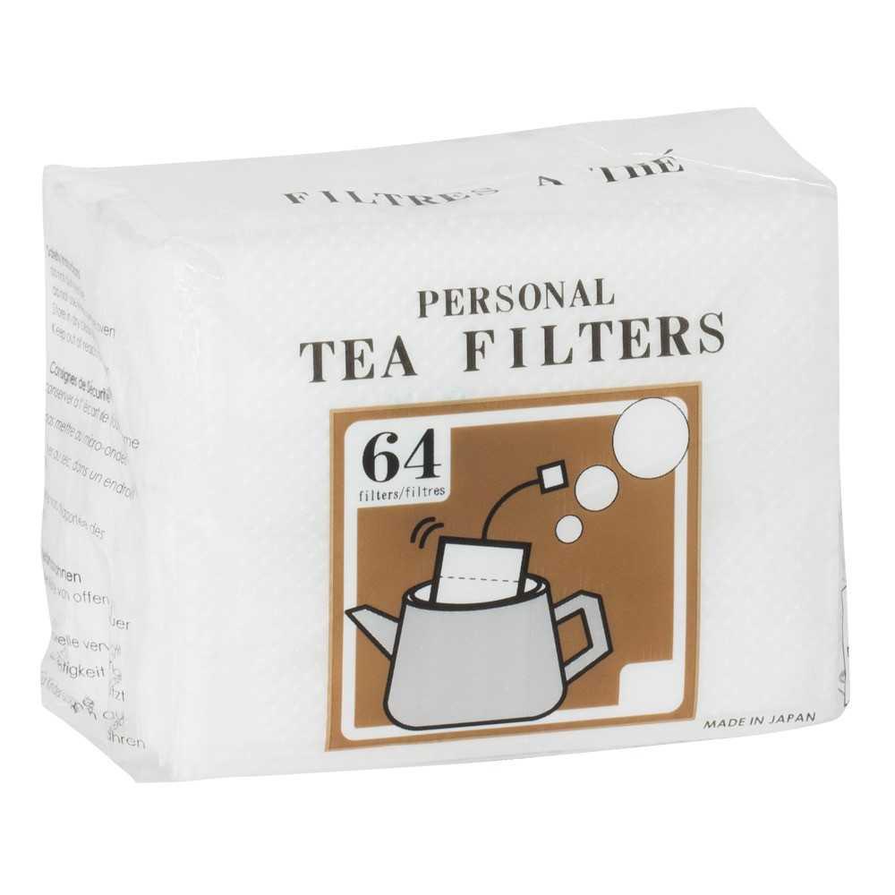 64 sachets pour thé avec ficelle