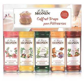 MONIN - Coffret sirops pour patisseries 5 mignonettes 5cl