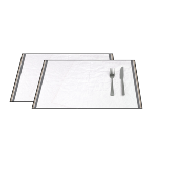 Set de table en coton 140 g pure 33x48 cm