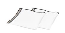 Achat en ligne 2 serviettes en coton 140 g Pure 40x40 cm