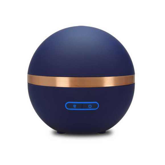 Diffuseur d'huiles essentielles ultrasonique bleu nuit