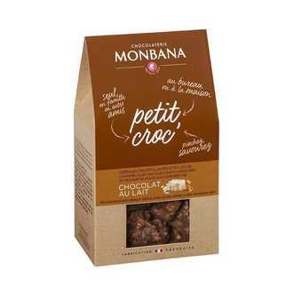 MONBANA - Croc'choco lait éclats caramel 120g