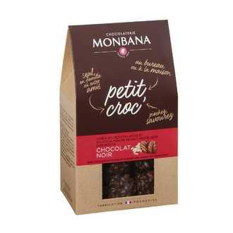 MONBANA - Pti Croc' choco noir noix pécan 120g