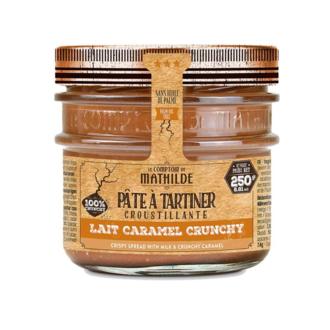 LE COMPTOIR DE MATHILDE - Pâte à tartiner lait caramel crunchy 250g