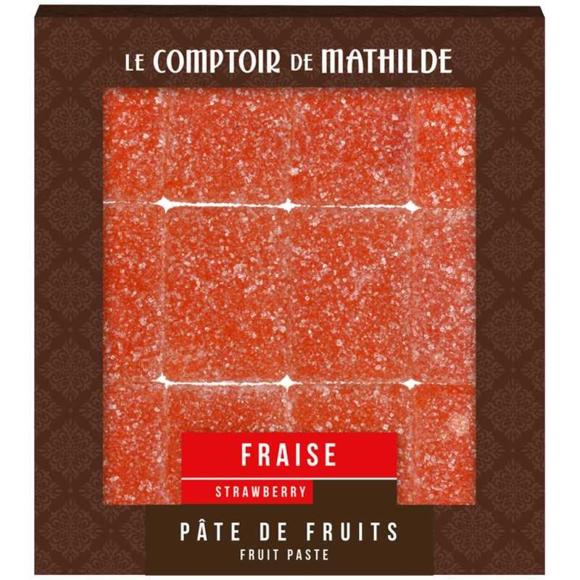 Pâte de fruit Fraise110g