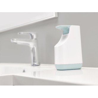 Distributeur de savon compacte bleu