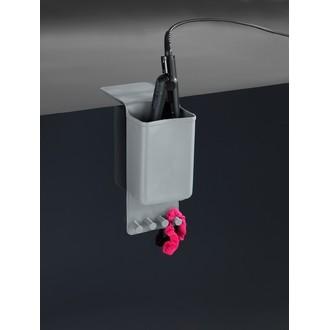 Porte fer à lisser en silicone gris thermostatique