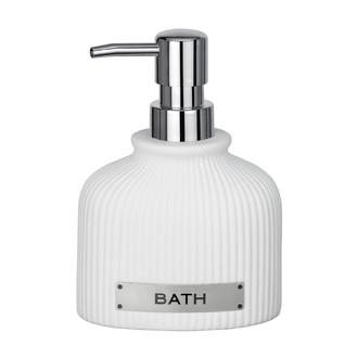 Distributeur de savon Bath blanc